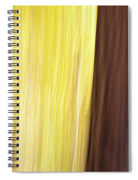 Aspen Blur #3 Spiral Notebook