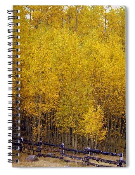 Aspen Fall 2 Spiral Notebook