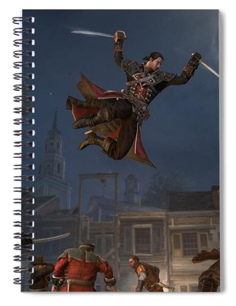 Assassin's Creed Rogue Spiral Notebook