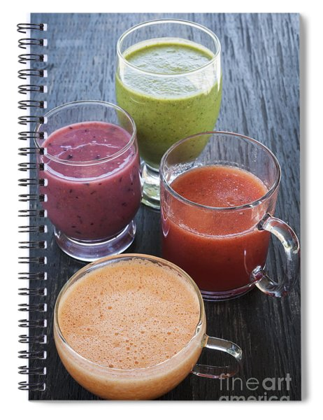 Assorted Smoothies Spiral Notebook