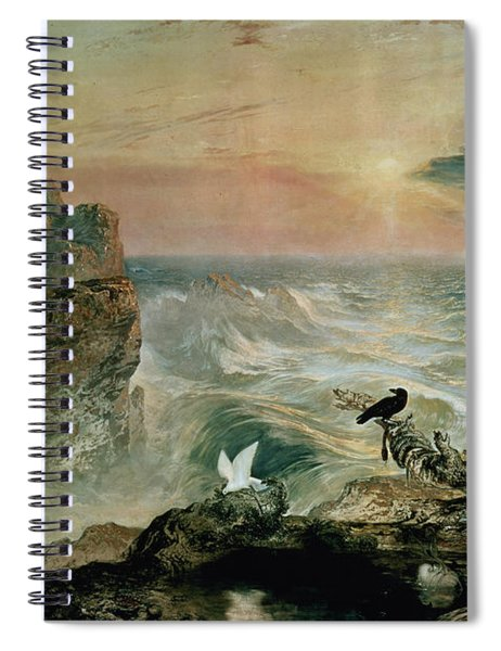 Assuaging Of The Waters Spiral Notebook
