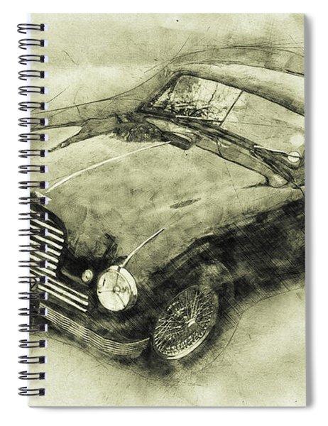 Aston Martin Db2 Gt Zagato - 1950 - Automotive Art - Car Posters Spiral Notebook