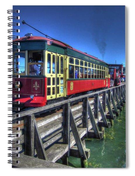 Astoria Riverfront Trolley Spiral Notebook