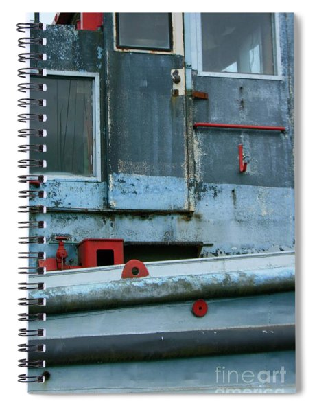 Astoria Ship Spiral Notebook
