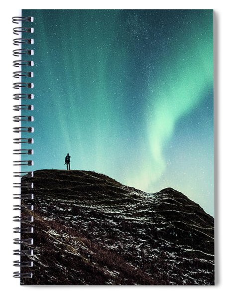 Astral Excursion Spiral Notebook