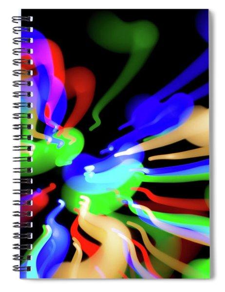Astral Travel Spiral Notebook