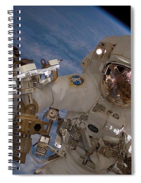 Astronaut Clay Anderson Spiral Notebook