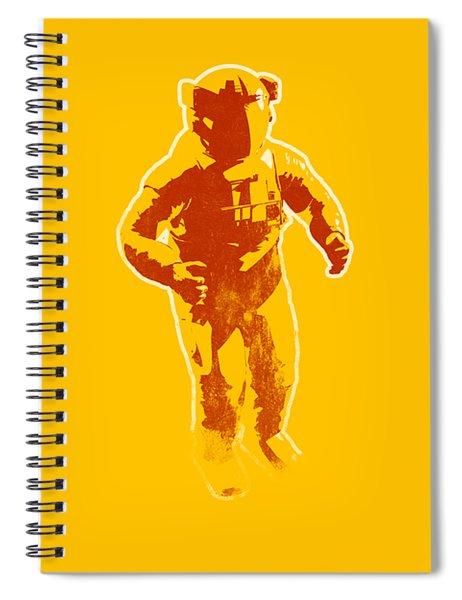 Astronaut Graphic Spiral Notebook