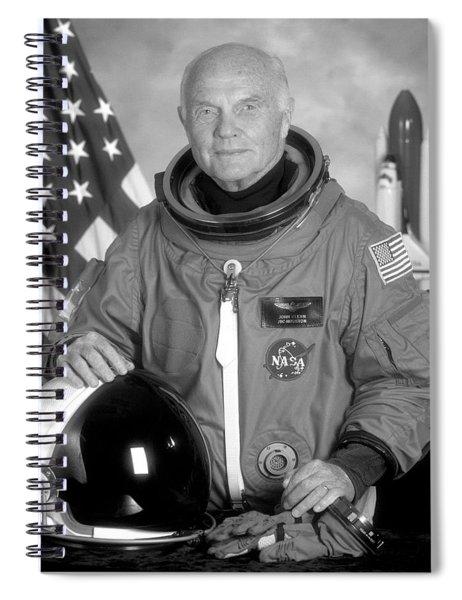 Astronaut John Glenn - 1998 Spiral Notebook