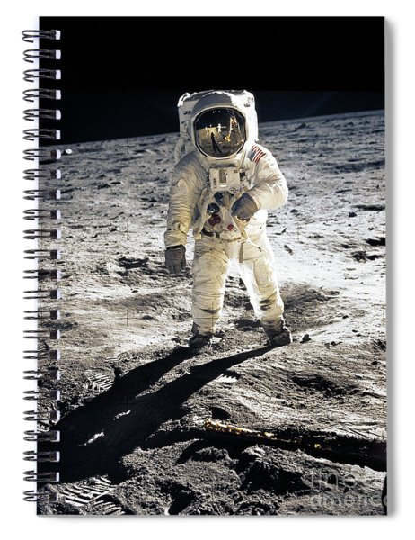 Astronaut Spiral Notebook