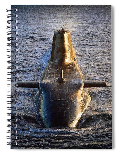 Astute Class Submarine Spiral Notebook