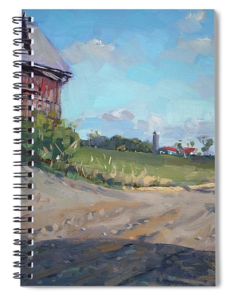 At Barn In Georgetown On Spiral Notebook