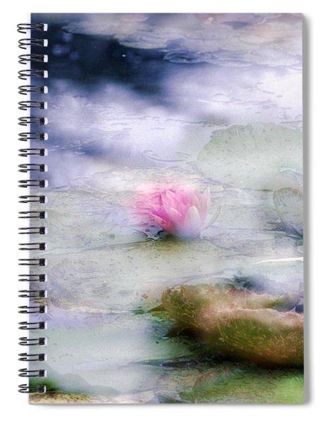 At Claude Monet's Water Garden 12 Spiral Notebook