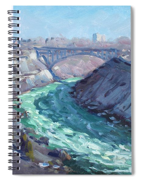 At Niagara Gorge Spiral Notebook