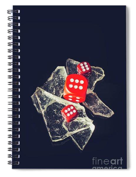 At Odds Spiral Notebook