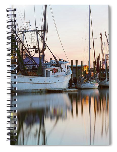At Rest - Shem Creek Spiral Notebook