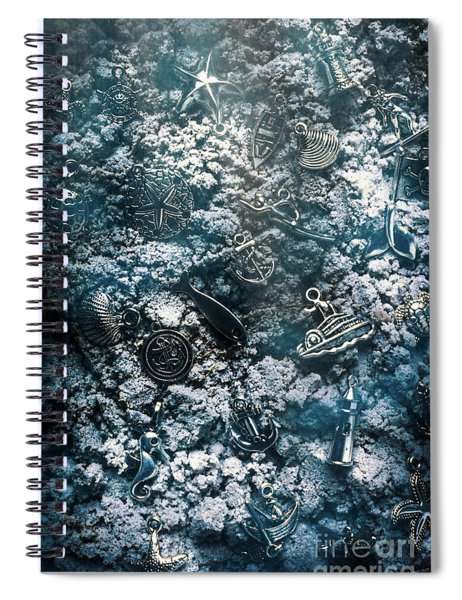 At The Bottom Spiral Notebook