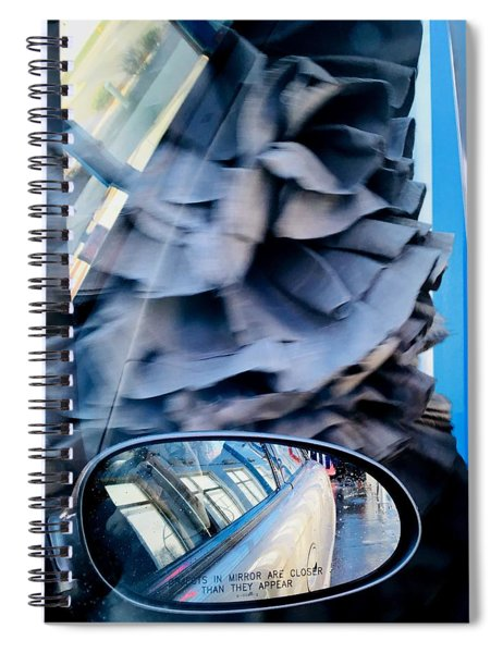 At The Car Wash 10 Spiral Notebook