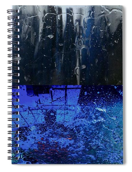 At The Car Wash 18 Spiral Notebook