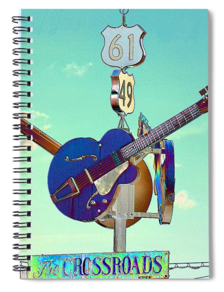 At The Crossroads Spiral Notebook