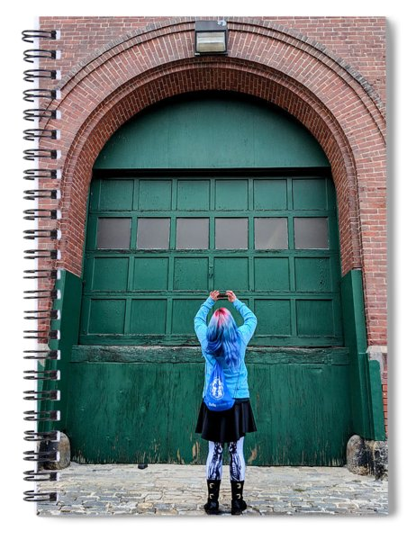 At The Door Spiral Notebook