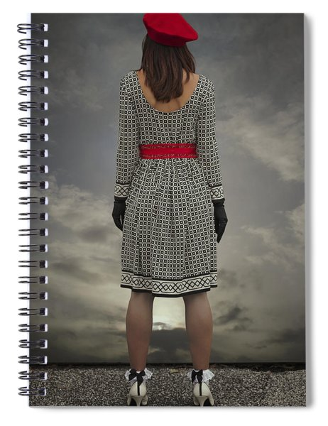 At The Edge Spiral Notebook