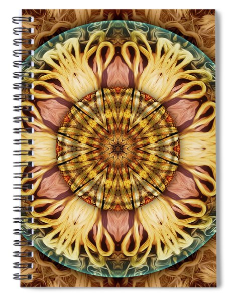 At The End Of My Rope Spiral Notebook