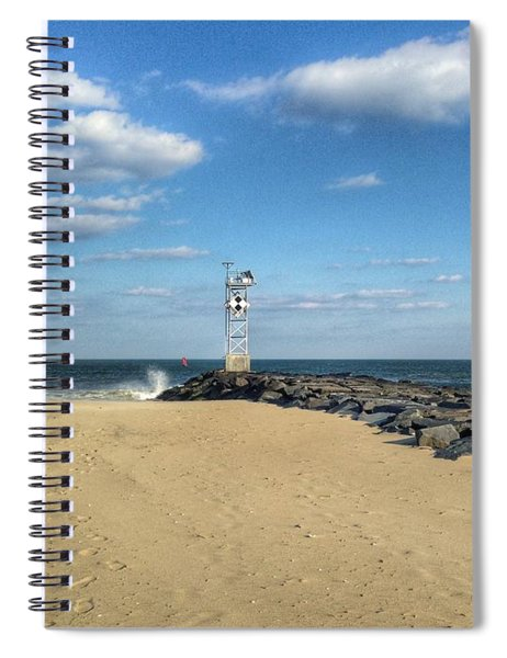 At The Inlet Spiral Notebook