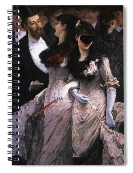 At The Masquerade Spiral Notebook