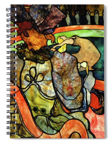 At The New Circus, Papa Chrysanthemum Spiral Notebook