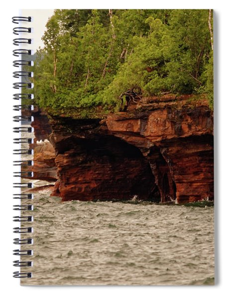 At The Point Spiral Notebook