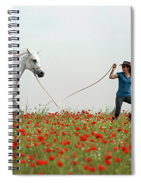At The Poppies' Field... 2 Spiral Notebook