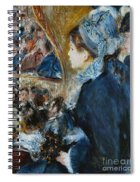 At The Theater Spiral Notebook