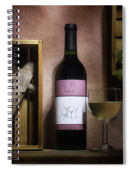 At The Vineyard Spiral Notebook