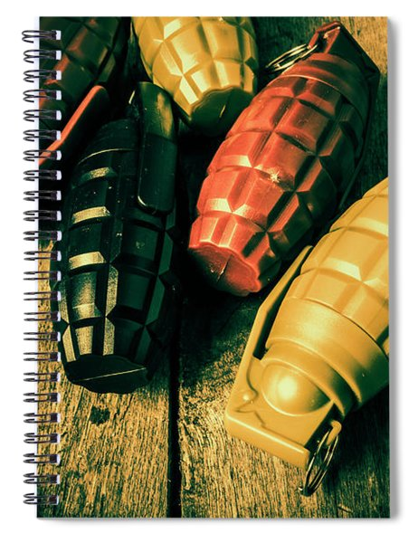 At The Wooden Armoury Spiral Notebook