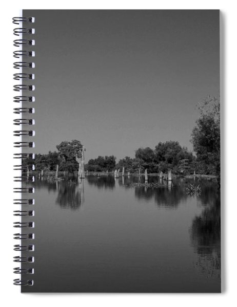 Atchafalaya Basin 15 Spiral Notebook