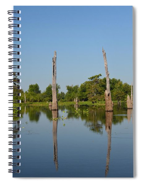 Atchafalaya Basin 19 Spiral Notebook