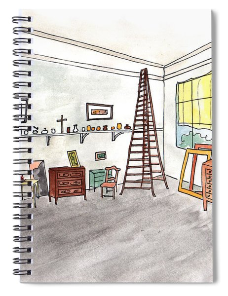 Atelier Of Paul Cezanne Spiral Notebook