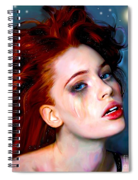 Athena Girl Spiral Notebook