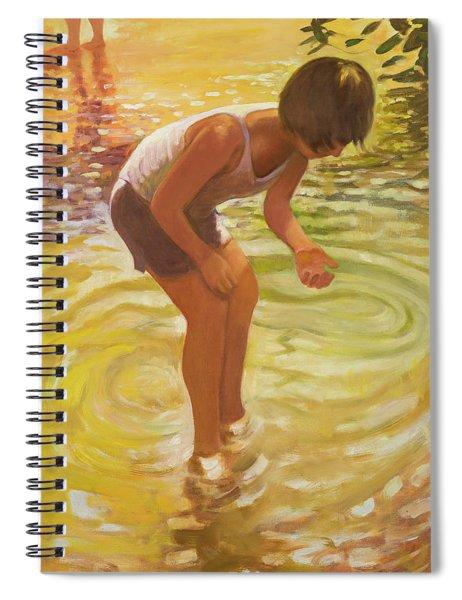 Athena Wading Spiral Notebook
