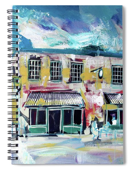 Athens Ga The Grit Spiral Notebook