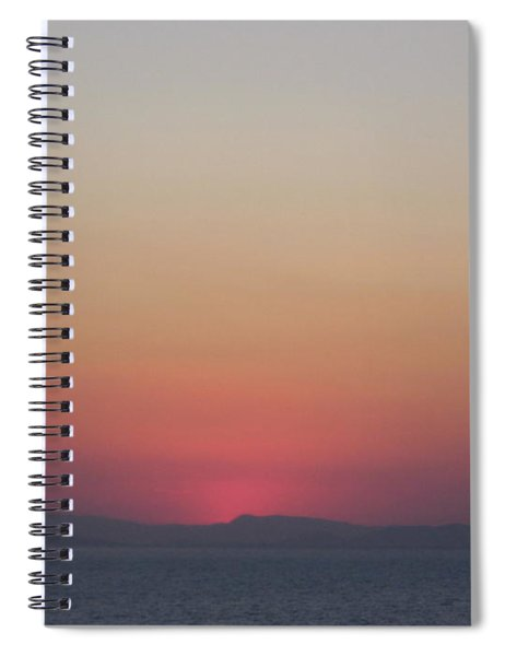 Athens Ombre Sunset Spiral Notebook