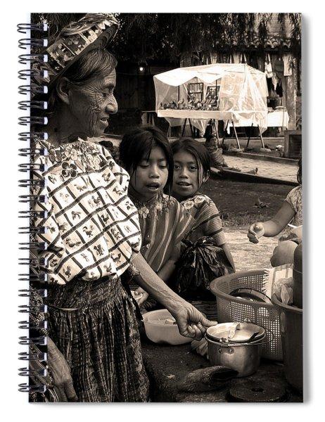 Atitlan Spiral Notebook