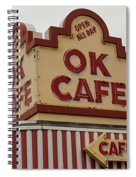 Atlanta Classic Ok Cafe Atlanta Restaurant Art Spiral Notebook