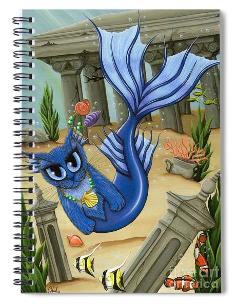 Atlantean Mercat Spiral Notebook