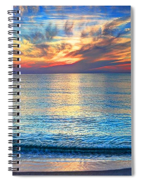 Atlantic Sunrise  Spiral Notebook