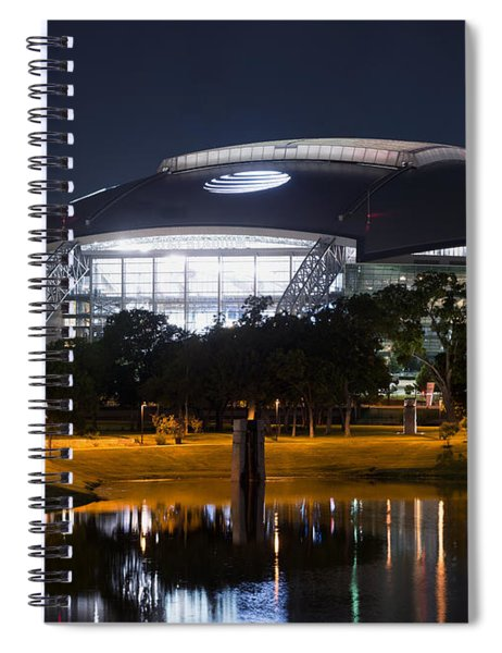 Dallas Cowboys Stadium 1016 Spiral Notebook