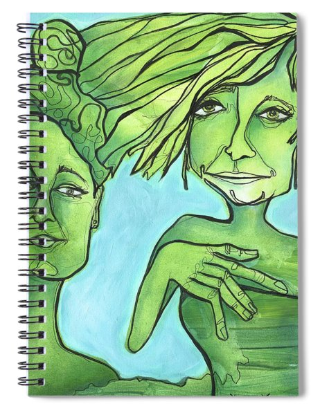 Attachment Theory Spiral Notebook