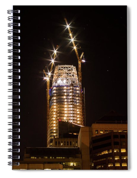Attack Of The Salesforce Tower Spiral Notebook