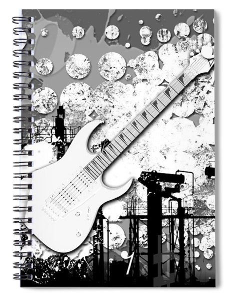 Audio Graphics 2 Spiral Notebook